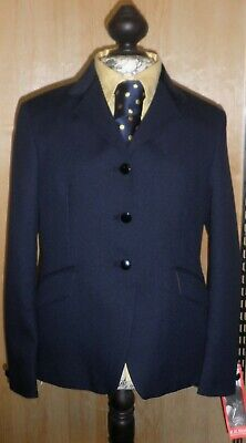 Mears Royale Girls Navy Show Jacket Size Medium