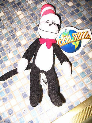 Dr Seuss Cat In The Hat Small Plush Toy Universal Studios Brand New Very Rare