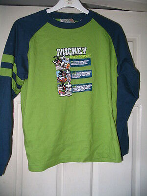 Disney Store Mickey Mouse Skateboarder Top Age 9/10 Brand New Rare