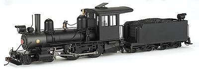 Bachmann 28321 On30 Painted & Unlettered 4-4-0 American Steel Cab w/DCC Loco