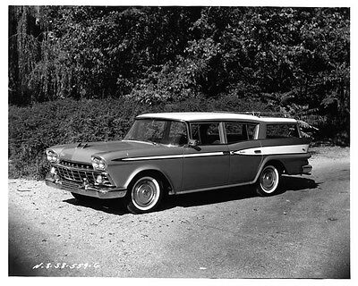 1959 AMC Rambler Rebel Custom Model 5918-2 ORIGINAL Factory Photo oae3786