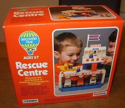 Retro Palitoy Tomy Rescue Centre Toy New Old Shop Stock Unused Collection Only