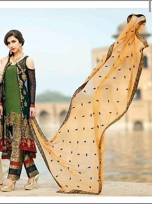 MARIA.B Designer LUXURY COLLECTION Embroidered Fully Stitched TAILORED SUIT S