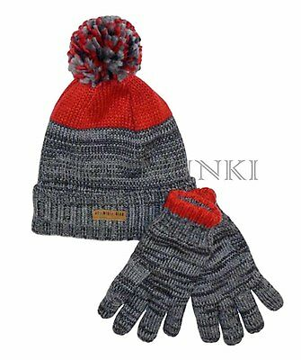 Carters Boy's Knit Beanie and Glove Set