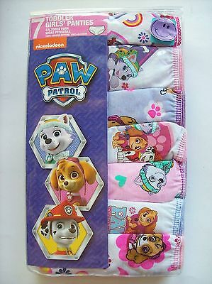 "NWT! Nickelodeon ""Paw Patrol"" bikini briefs - size 4 - pack of 7"