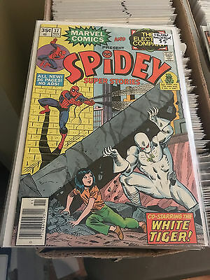 SPIDEY SUPER STORIES #37 VG/FN 1st Print The Electric Company Spider-Man Comic