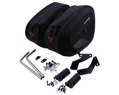 Saddlebags Set Sports. 1680 Ballistic Nylon. Ducati 848 Streetfighter