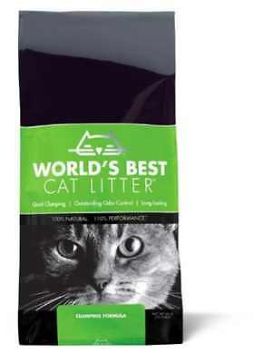 Worlds Best Cat Litter 12.7 kg Outstanding Odour Control And Quick Clumping New