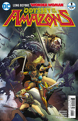 The Odyssey of the Amazons  (2017) #1 VF/NM Ryan Benjamin Cover Wonder Woman