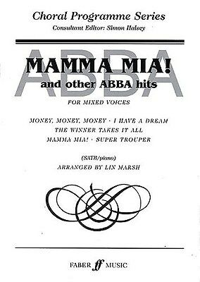 Mamma Mia! And Other Abba Hits (SATB). Choral Sheet Music