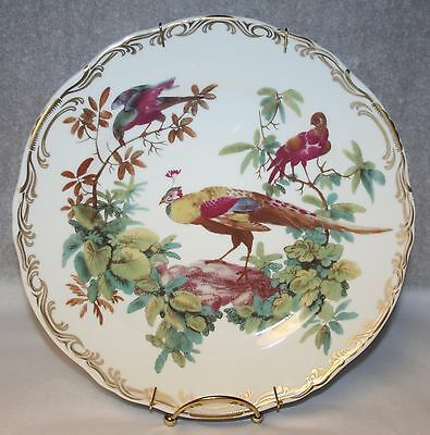 Smithsonian Exotic Bird Dinner Plate Andrea by Sadek Display Model