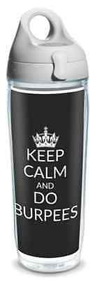 Tervis Trinkflaschen 7.1dl rot Keep Calm and Do Burpees