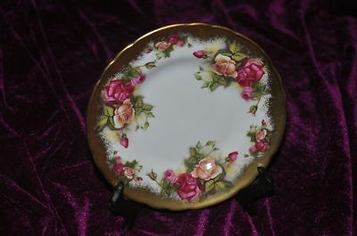Royal Chelsea Golden Rose English Bone China Plate 6.5""