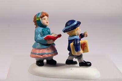 Dept 56 Dickens' Village Accessory 'Bringing Dickens Home' #4035570 New In Box