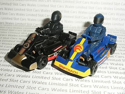 MICRO Scalextric - Pair of Go-Karts - Mint Cdn.