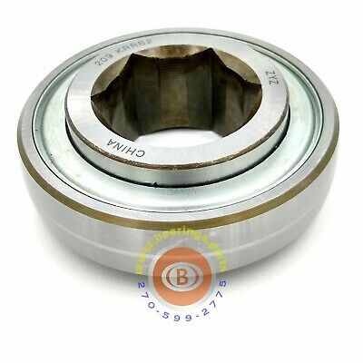 """Replaces AE40895 John Deere Feed Roll (CNH 47577178), Bearing, 1 1/2"""" Hex Bore"""