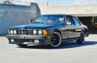 1984 BMW 6-Series 2 Door Coupe e24 633 635 csi M6  5 Speed - LSD - Heavy Documentation - Slightly modified - Cold AC - Daily Driver