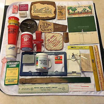 Vintage New Albany, Indiana Advertising - Lot of Approx. 30 Pieces