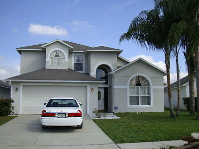 5 bedroom villa-10 mins from Disney-Kissimmee-Orlando 19 feb - 25 Feb  6  nights