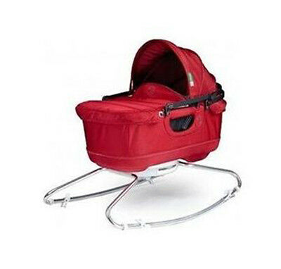 Orbit Baby G2 Bassinet Ruby red Brand new in box with paparazzi shield