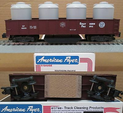 eSPee™ TRACK CLEANING GONDOLA CAR - American Flyer - Southern Pacific - S Scale