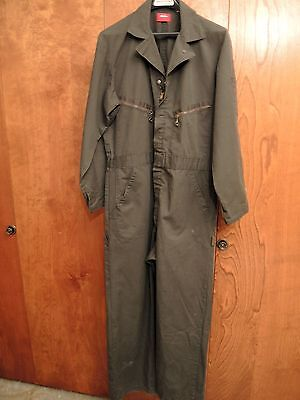 Dickies Single Weight Carpenter Style  Coveralls Size Large With  Hammer Loop