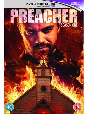 Preacher: Season One DVD (2016) Dominic Cooper cert 18 3 discs Amazing Value