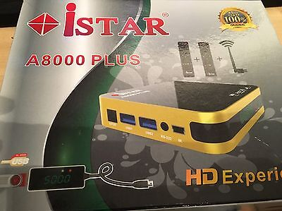 istar korea A8000 With 6 Months Free Online Tv 2712 Channels no need dish