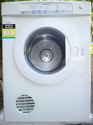 Westinghouse 5Kg Autosensing.  Warranty, Great Dryer! Exc
