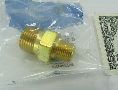 "Western Enterprises Brass Outlet Adapters CGA-540 Oxygen x 3/8"" NPT B-51 Welding"