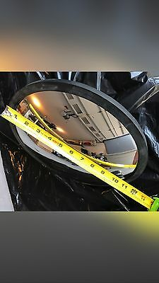 "Lester Broussard 12""  Indoor/Outdoor Safety & Security Convex Mirror"