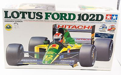 NEW Tamiya 1/20 Lotus Ford 102D Limited Editio Painted Hikkinnen Driver