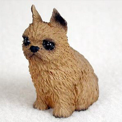 BRUSSELS GRIFFON TINY ONES DOG Figurine Statue Resin Pet Lovers Gift
