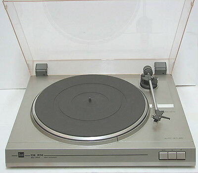 vintage DUAL CS 514 Belt Driven Turntable 33 / 45 RPM Germany