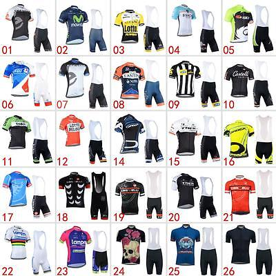 Cycling Jersey Bib Shorts Kits Breathable Bicycle Clothing Bike Cycle Wear Shirt