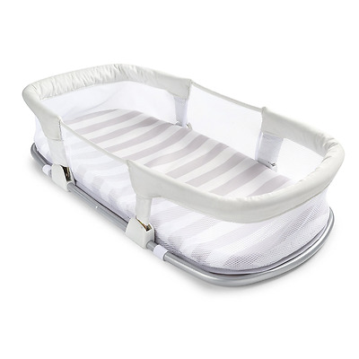 SwaddleMe By Your Side Sleeper Travel Baby Bed Nursery Infant Crib Bedding New