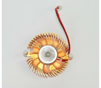Cooling Fan Cooler Heatsink for Computer Graphic Video Card 2-pin Plug