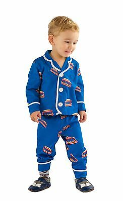 Daniel Tiger Trolley Pajamas 24M 2T 3T 4T Kids Toddlers Boy Girl Trolley Pjs