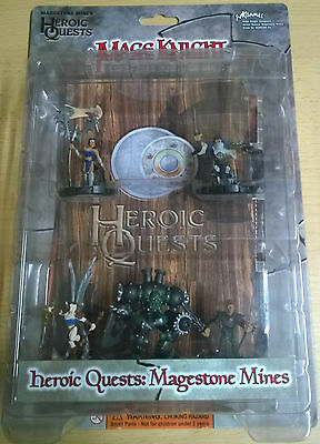 WizKids Mage Knight Heroic Quests: Magestone Mines (Mint, Sealed)