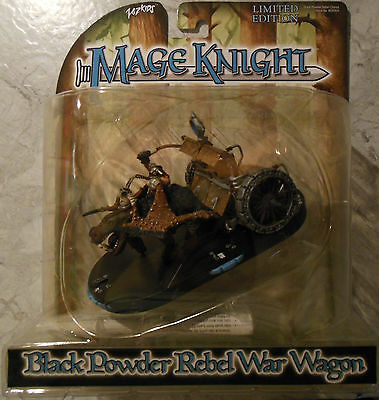 WizKids Mage Knight Rebellion Black Powder Rebel War Wagon Limited (Mint,Sealed)