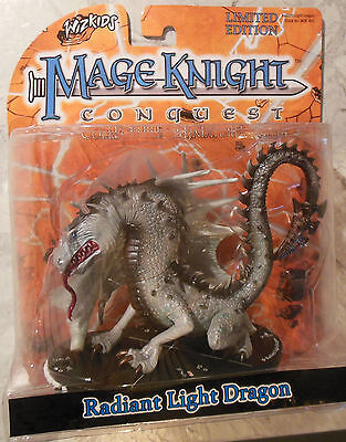 WizKids Mage Knight Conquest Radiant Light Dragon Limited Edition (Mint, Sealed)