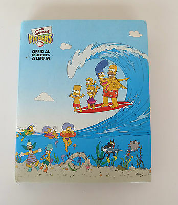 THE SIMPSONS Pickers Mixed Lot incl. Collector's Album + 94 Tazos + 41 Doubles