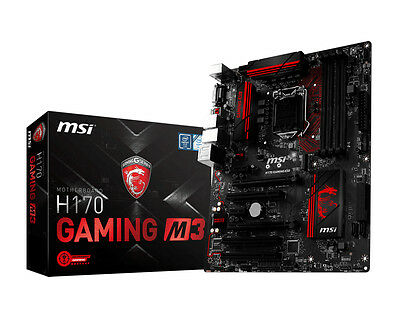 Scheda Madre MSI Z170A Gaming Pro Carbon DDR4 RGB
