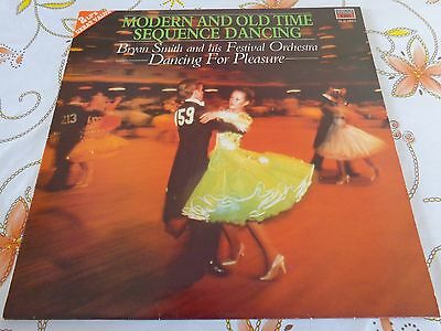 Modern & Old Time Sequence Dancing - Brian Smith - Mfp Dl4110621 1975 -  Ex/ex