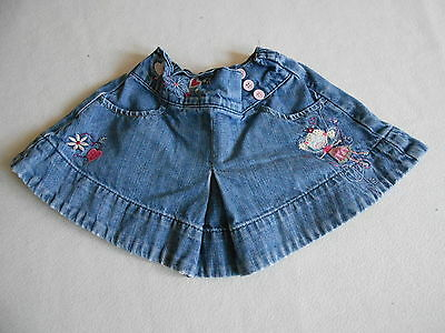 Girls Clothes 18-24 Months - Cute Denim Skirt -