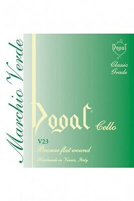 Dogal Green Label Cello String 1/2-1/4