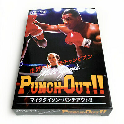 Mike Tyson's PUNCH-OUT - Replacement plastic empty box custom for Famicom game