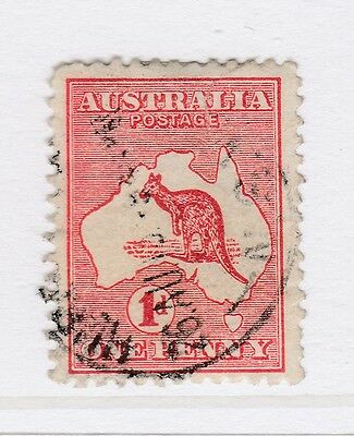A3P19 Australia 1913-14 Perf. 12 Wmk Wide Crown and Wide A 1d used #10