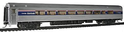 Walthers 920-14001 HO Amtrak 85' Budd 1 Drawing Room 29-Seat Lounge Car Lighted