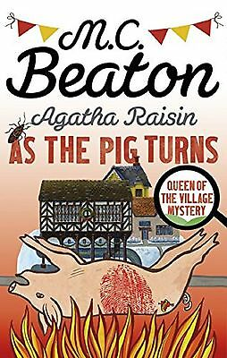 Agatha Raisin: As the Pig Turns by M. C. Beaton, Book, New Paperback